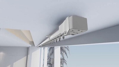 Электро-карниз на потолок