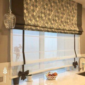 фото римских штор
