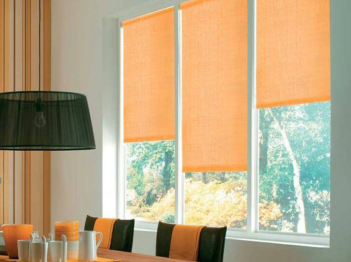 выбрать ткань для рулонных штор